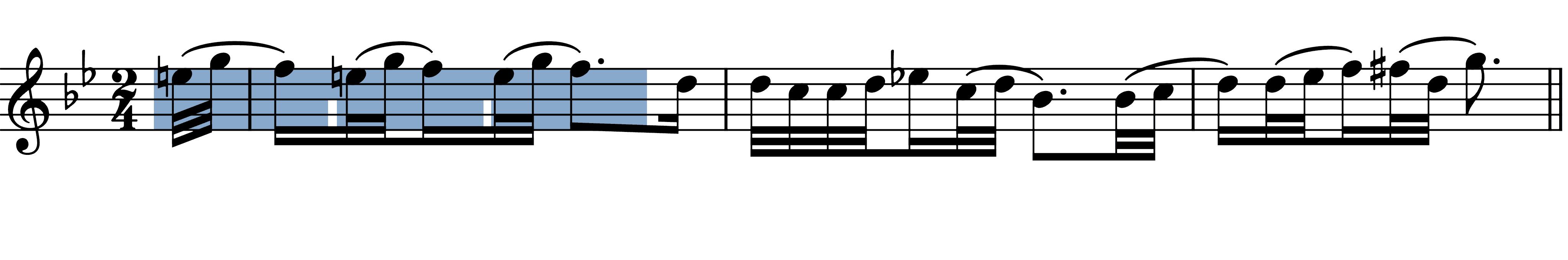 beethoven-symphony-8-ii melodic figures