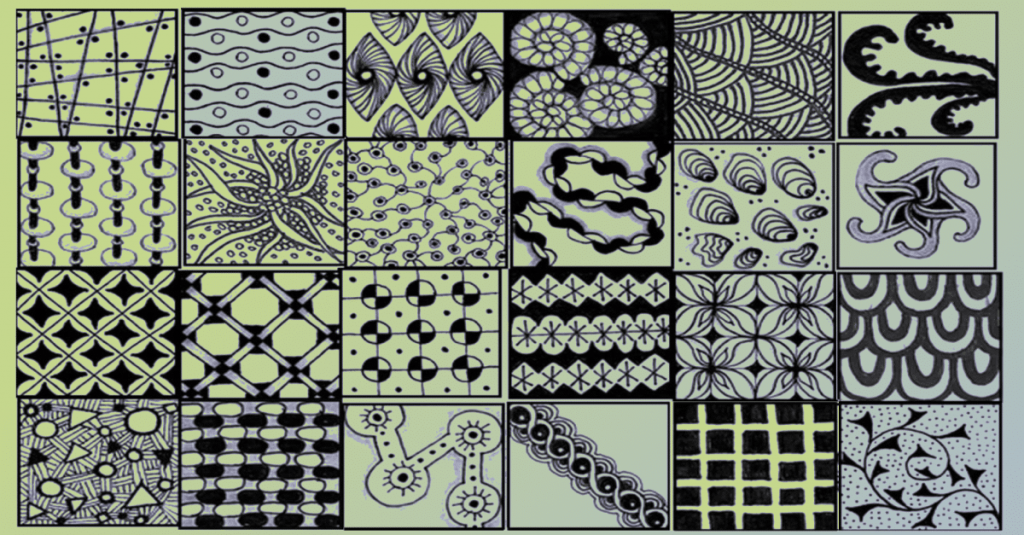 melody is made from patterns