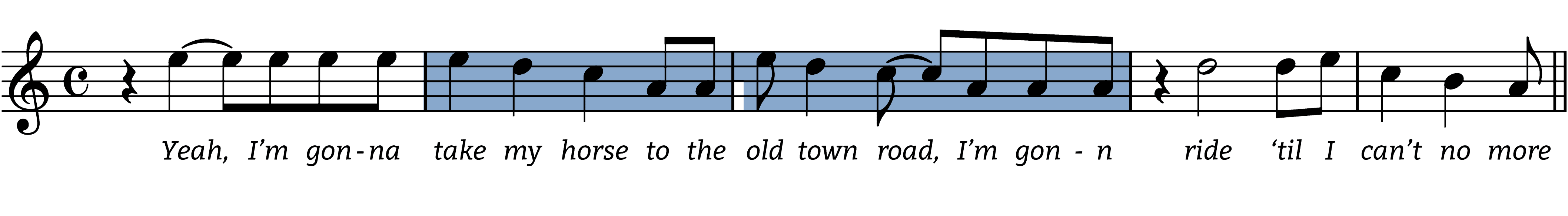 old-town-road melodic figures